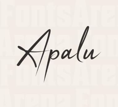 Apalu by Syaf Rizal