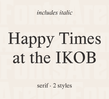 Happy Times at the IKOB by Lucas Le Bihan
