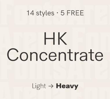 HK Concentrate by Hanken Design Co