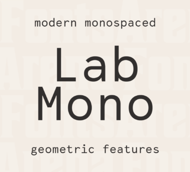 Lab Mono by Martin Wecke
