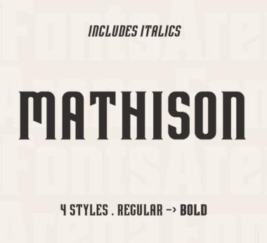 Mathison by Gabriela Bury