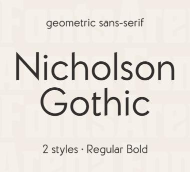 Nicholson Gothic by Alex Tomlinson