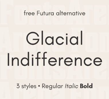 Glacial Indifference by Hanken Design Co