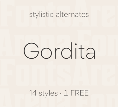 Gordita by Type Atelier