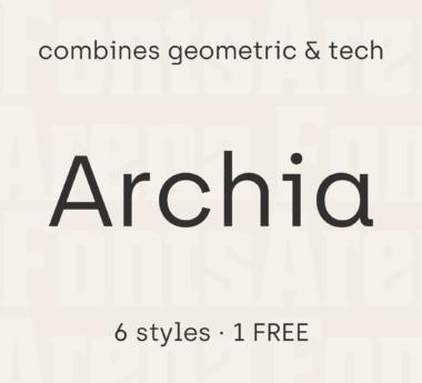 Archia by Atipo Foundry