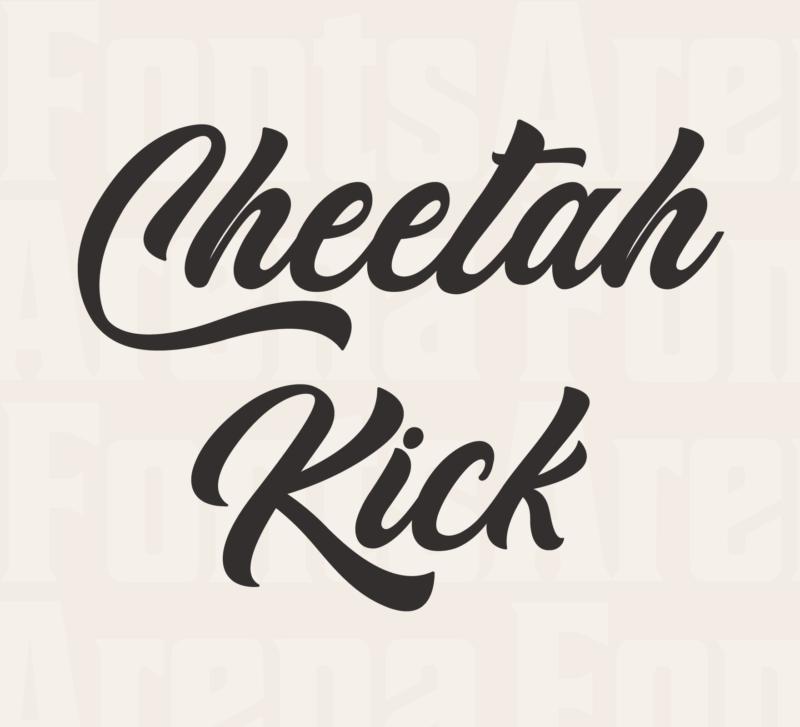 Cheetah Kick by Typhoon Type