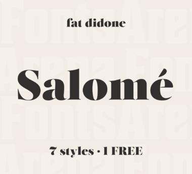 Salomé by Atipo Foundry