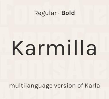 Karmilla by Jonathan Pinhorn & Manuel Schmalstieg
