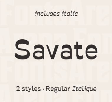 Savate by Collectif Wech