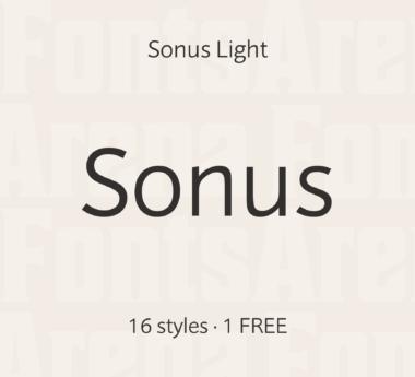 Sonus by Hoftype
