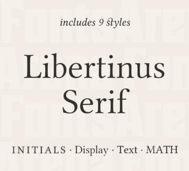 Libertinus Serif by Libertinus Fonts