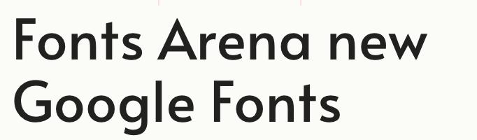 Alata free font