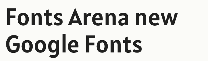 Alatsi free font