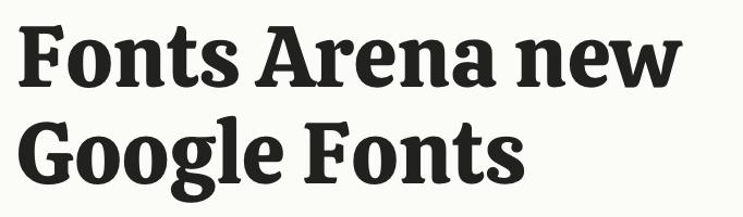 Calistoga free font