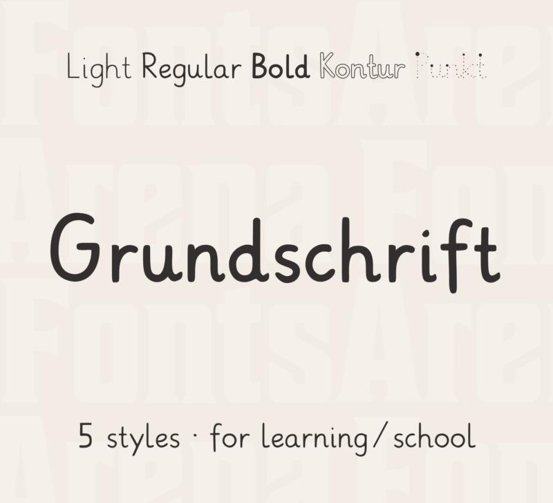 Grundschrift by Christian Urff