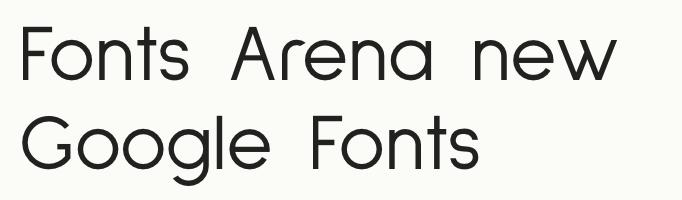 Sulphur Point free font
