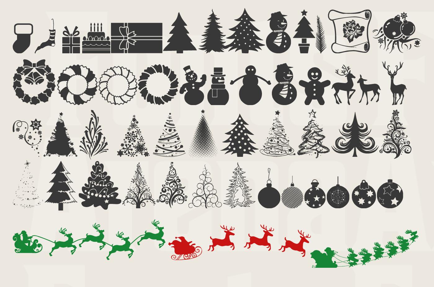 Xmas TFB Christmas free icon font