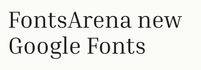 Inria Serif free font