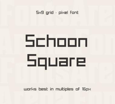 SchoonSquare by Michiel van Kleef