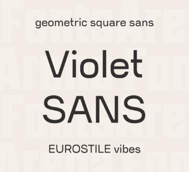 Violet Sans by Violet Office
