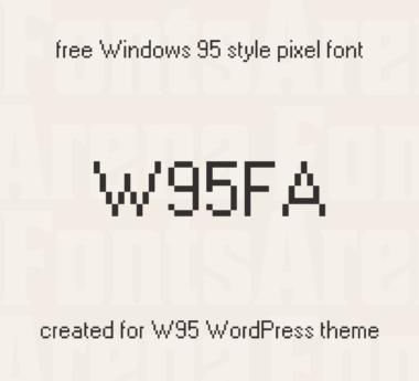 W95FA by FontsArena