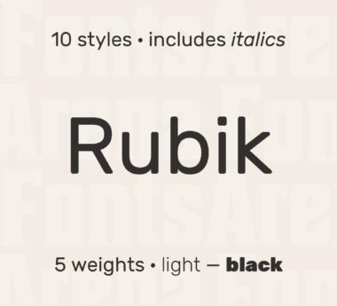 Rubik by Hubert & Fischer