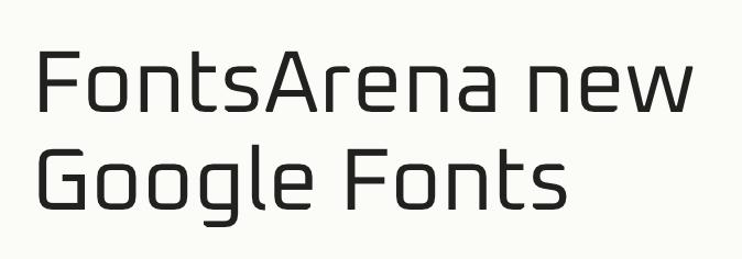 Oxanium free font