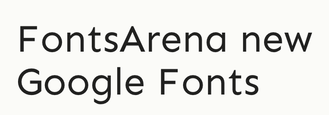 Sen free font