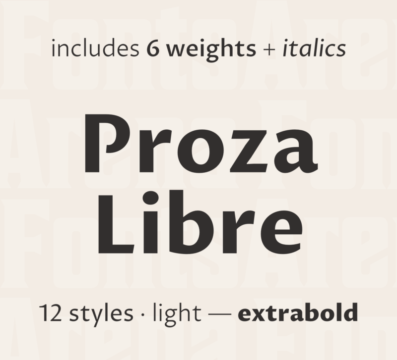 Proza Libre by Bureau Roffa