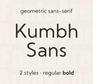 Kumbh Sans by Saurabh Sharma